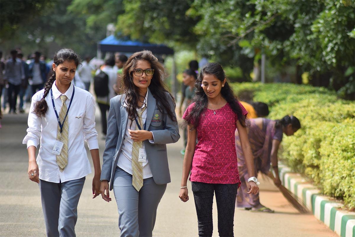 NCMS college campus in bangalore